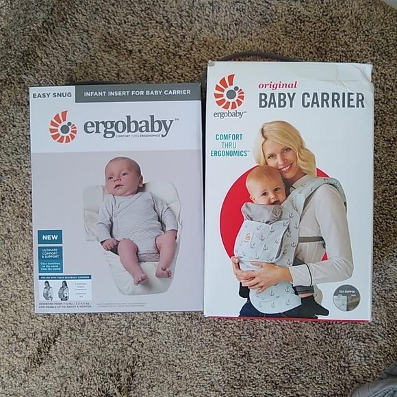 05da85459c5 Ergobaby Other - Ergobaby seaskipper anchor carrier   infant insert